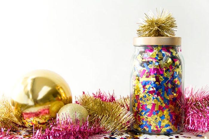 DIY Confetti Surprise Jar