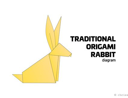 traditional origami rabbit instructions
