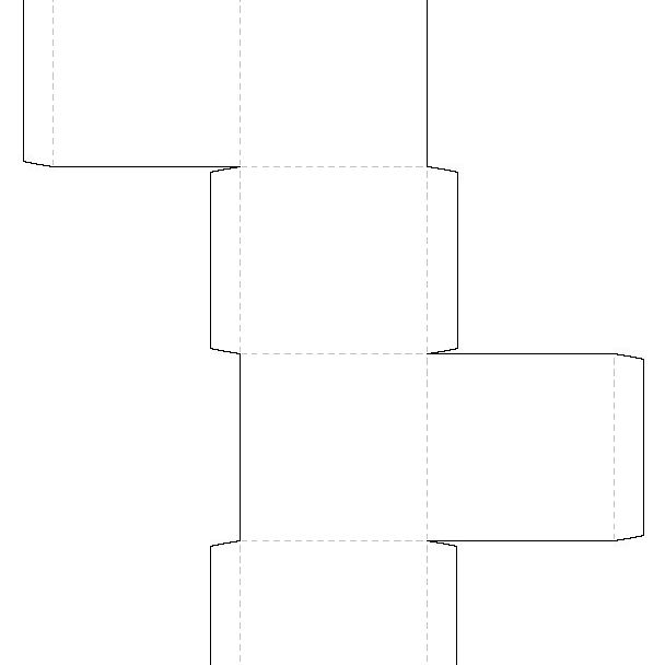 Printable Square Box Template