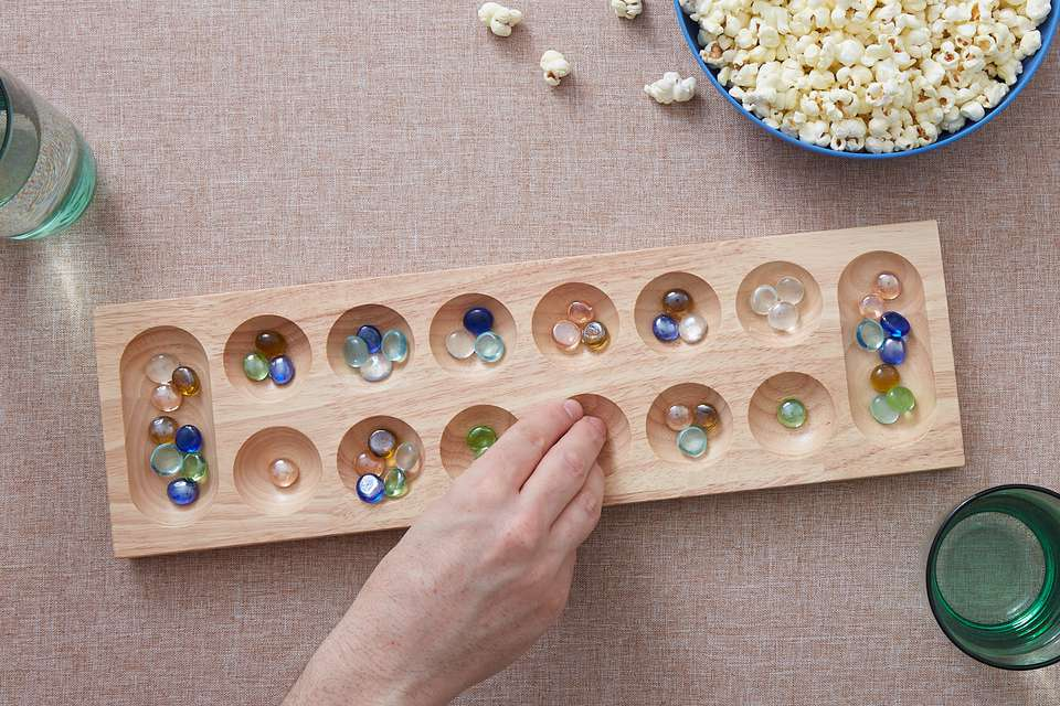 mancala board set up