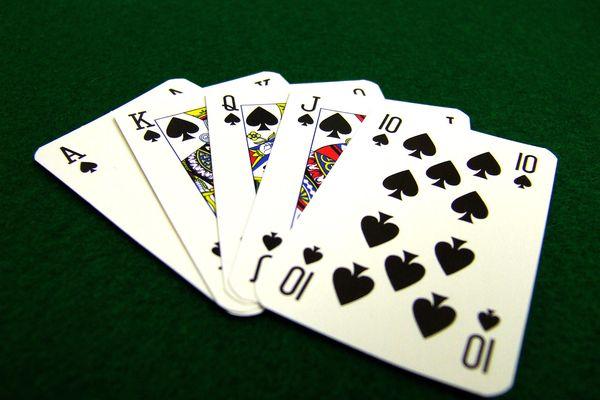 Spade playing cards