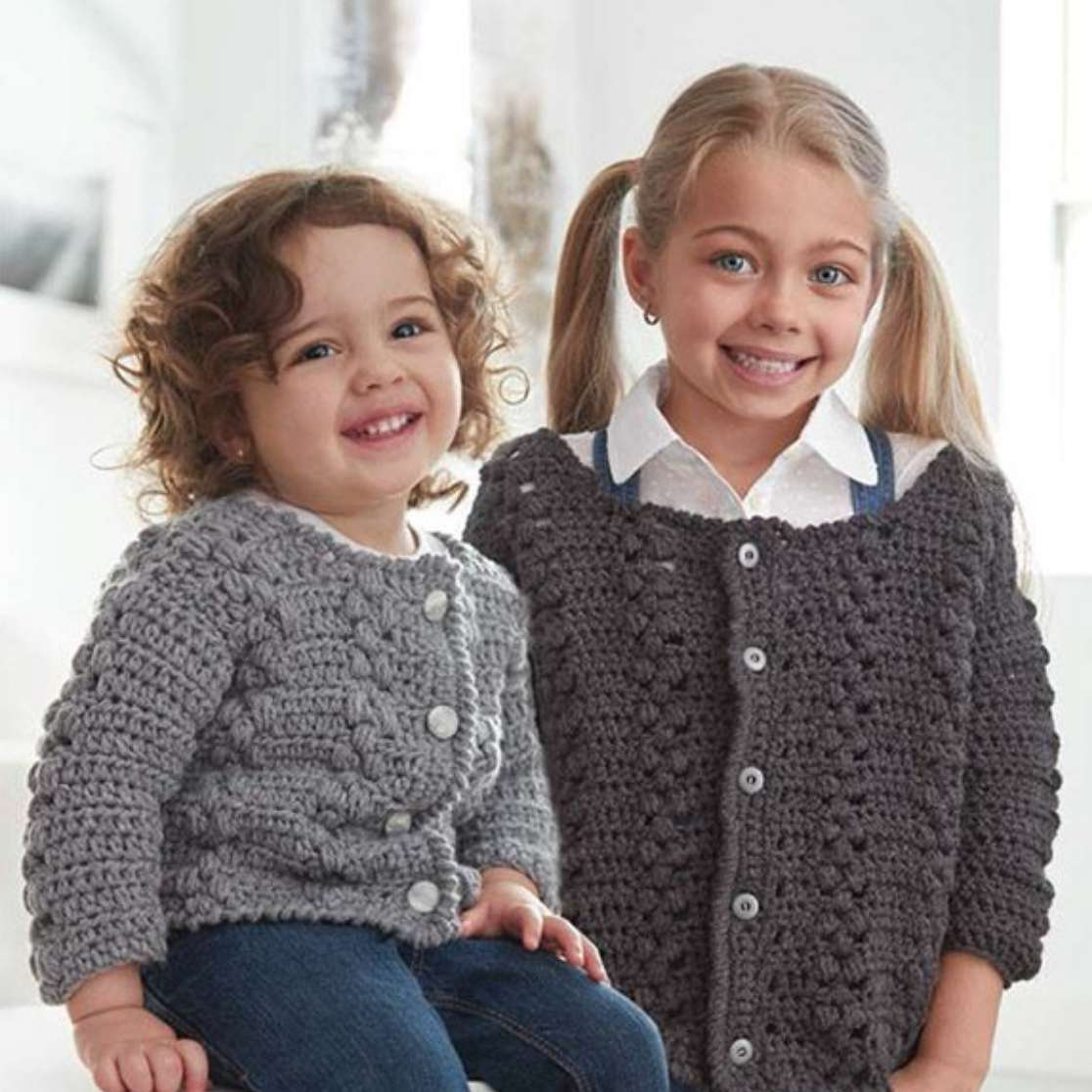 Big Girl Cardigan Crochet Pattern