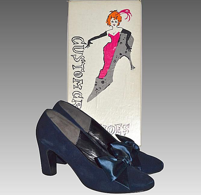 1960s Shoes with Original Box