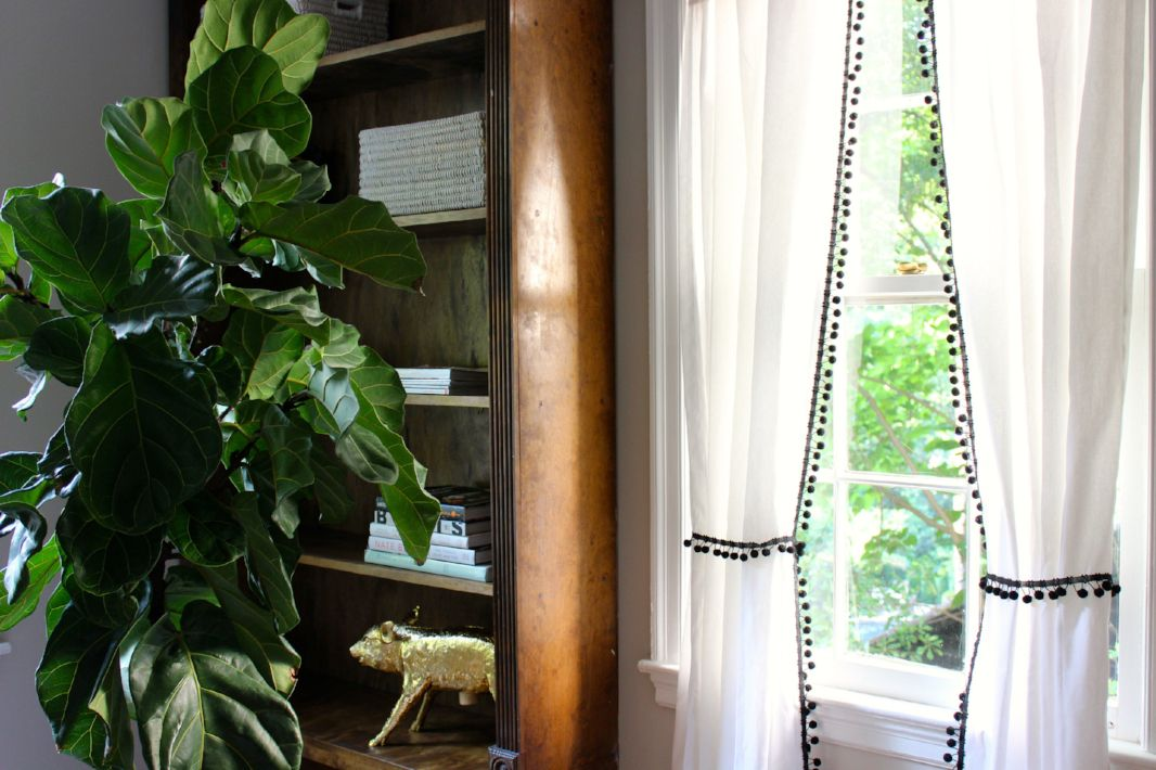 14 Diy No Sew Curtain Tutorials