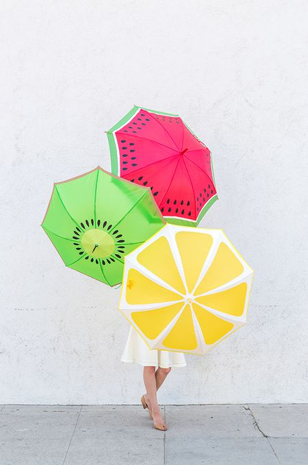 decorate your umbrella with these clever diys