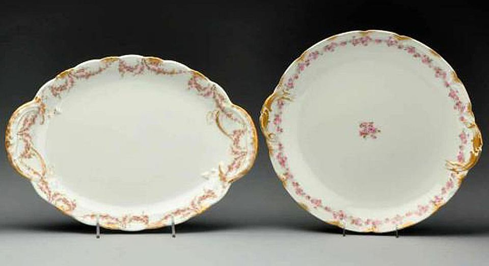 Haviland Limoges china platters