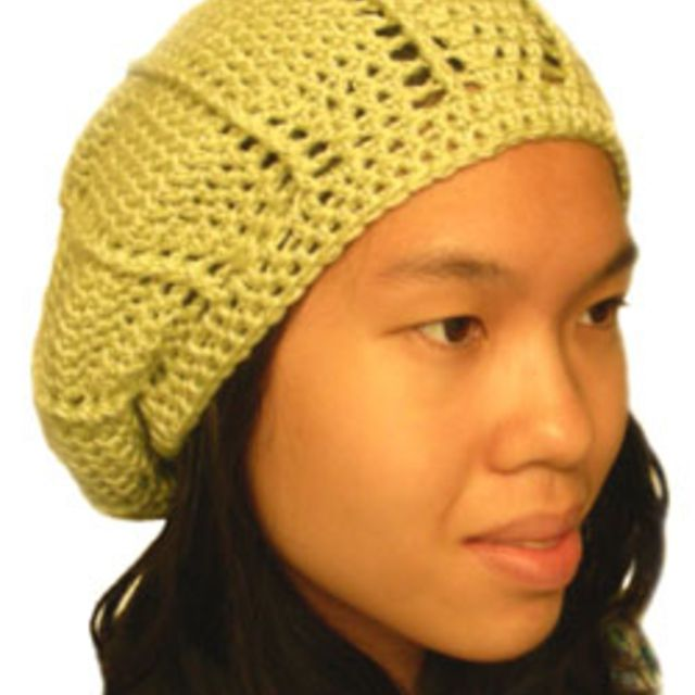 c3bf26a1e16 Textured Slouchy Beanie Free Pattern