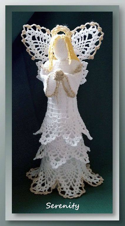Free Crochet Angel Patterns For Christmas And Every Day