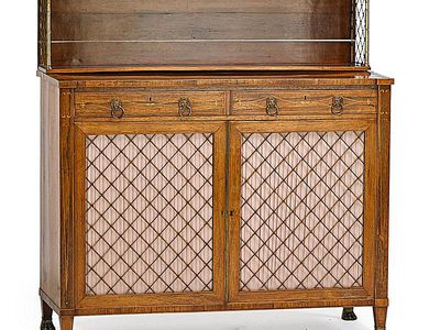 Soundalike Antique Furniture: Régence Vs. Regency - How To Identify Sheraton Style Antique Furniture