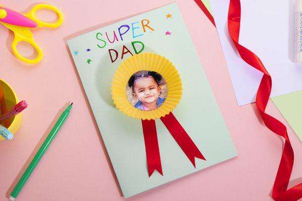 Super Dad DIY card