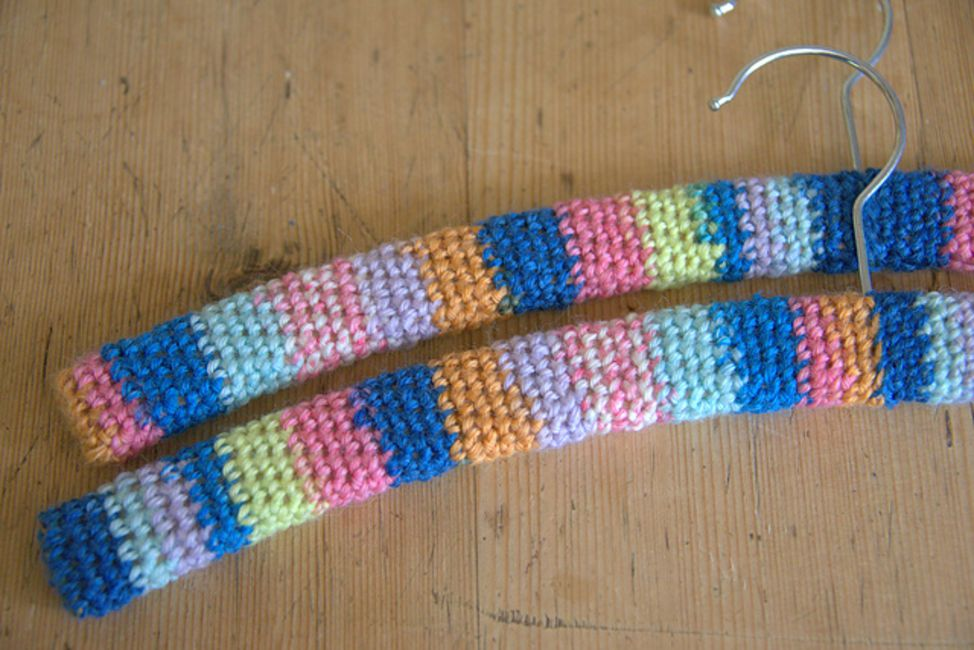 How To Crochet Hanger Covers
