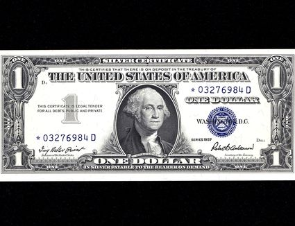 Silver Certificate of 1957