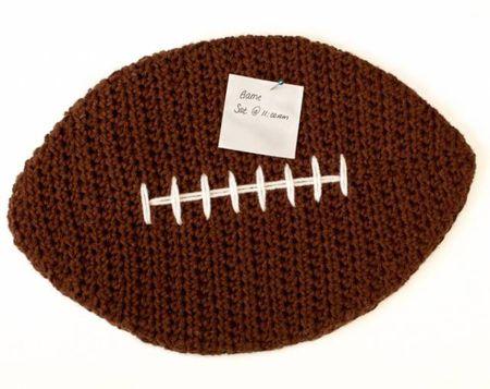 10 Free Crochet Football Patterns