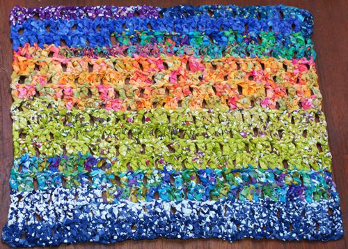 Free Colorful CCrochet Rag Rug Pattern Inspiration Crochet Rag Rug Patterns