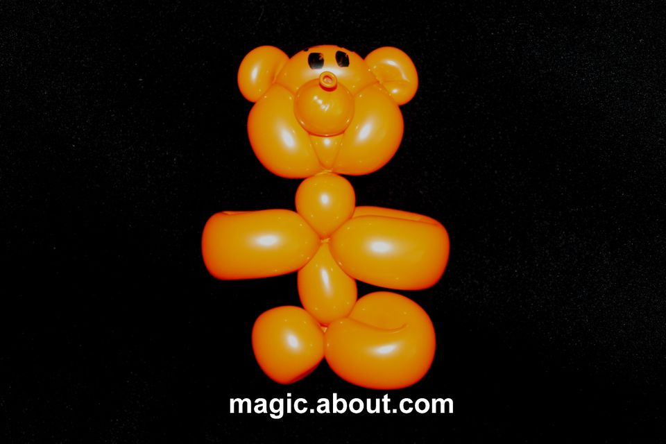 Teddy Bear Balloon Animal