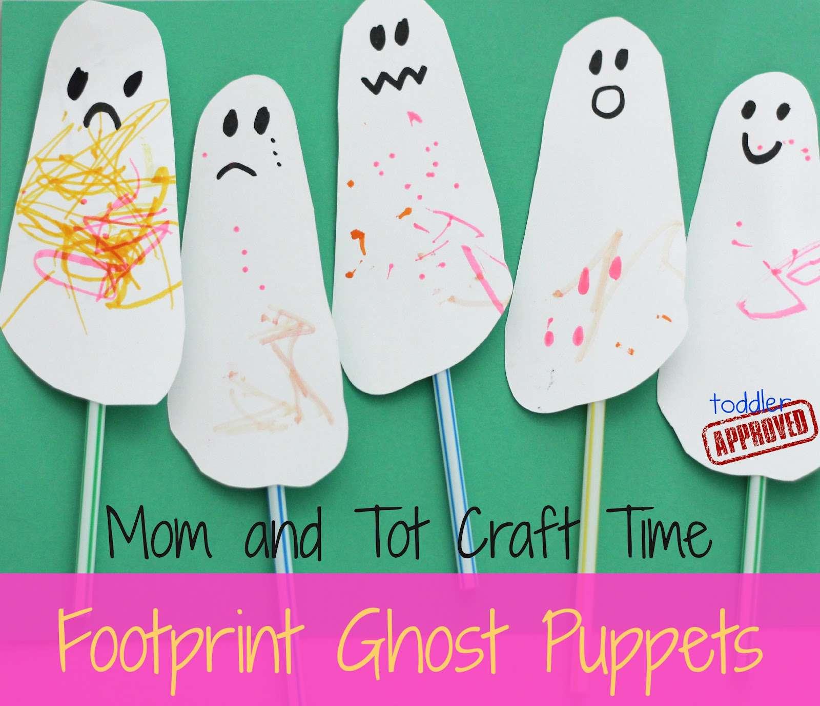 Footprint Ghost Puppet