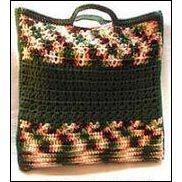 Woodsy Shells n Mesh Roomy Tote Bag by Sandi Marshall