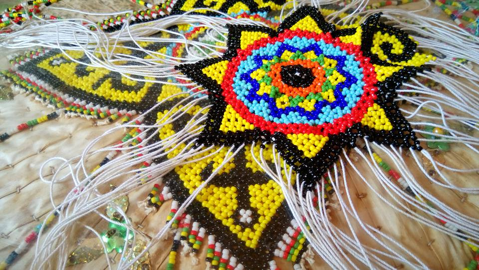 flower bead weave