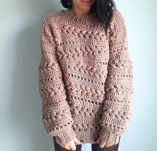 Advanced Crochet Sweater Pattern