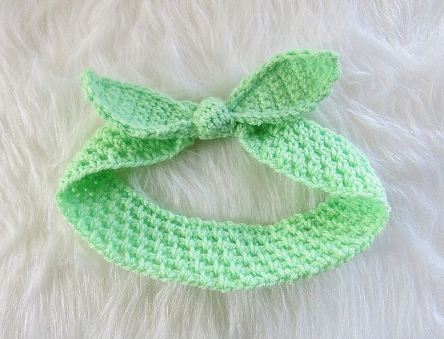 12 Free Patterns For Crochet Headbands