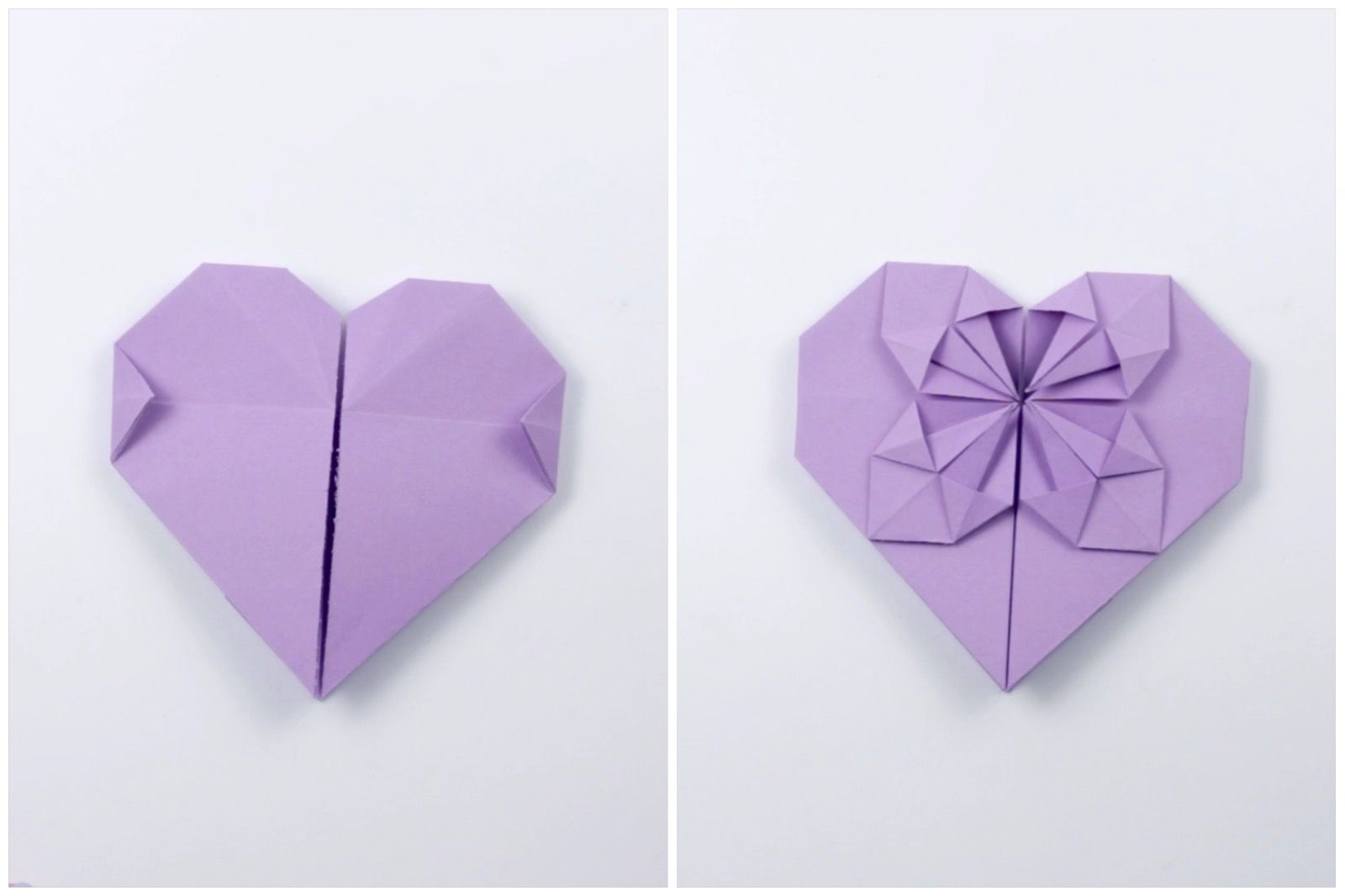 Origami Money Heart | Heritage Valley Federal Credit Union | 1066x1600