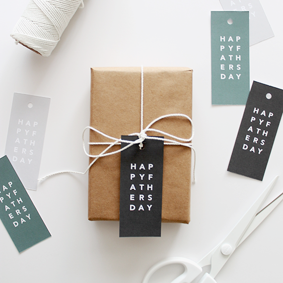 DIY Father's Day Gift Tags