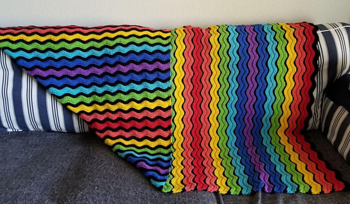 10 Crochet Ripple Afghan Patterns