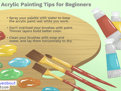 How to Clean Your Paint Brushes