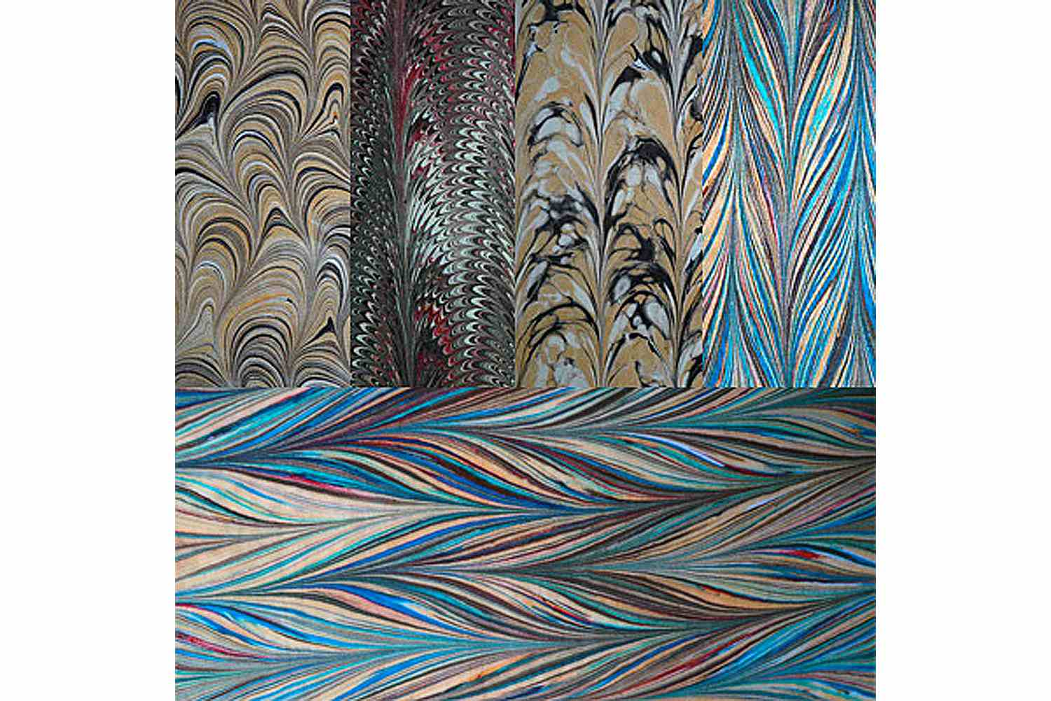 How To Make Hand Marbled Fabrics
