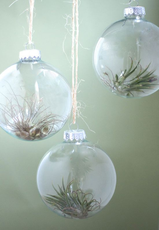 9 ways to fill a clear glass christmas ornament - Glass Christmas Bulbs For Decorating