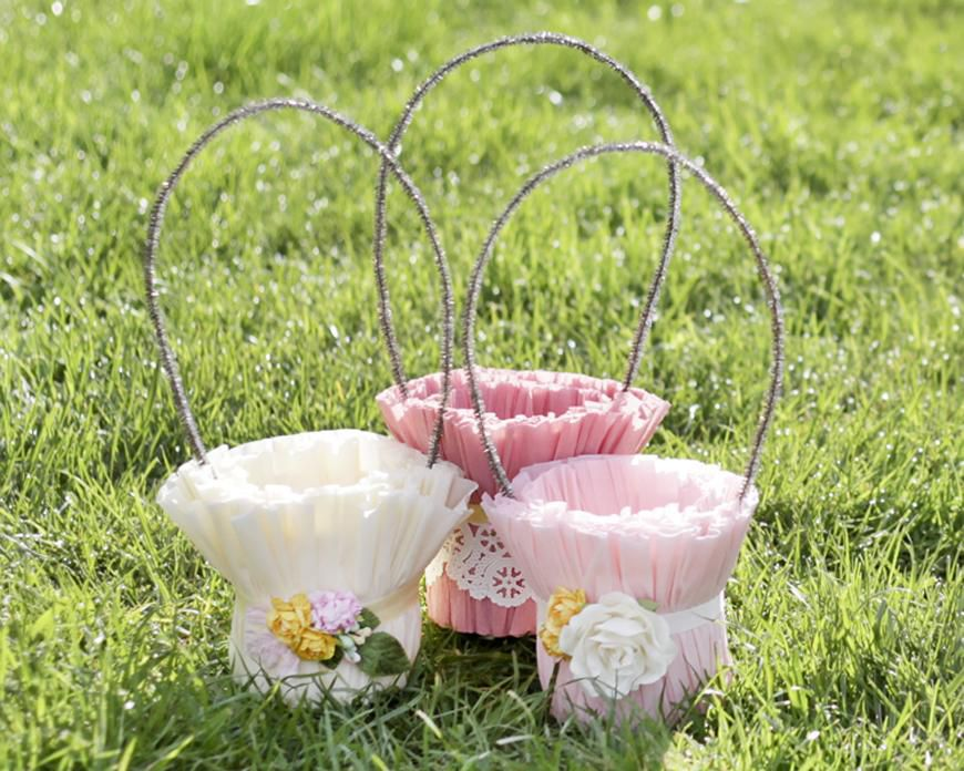 24 easter basket ideas we love how to make beautiful easter baskets negle Gallery