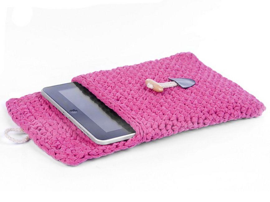 Easy Crochet Tablet Cozy Pattern