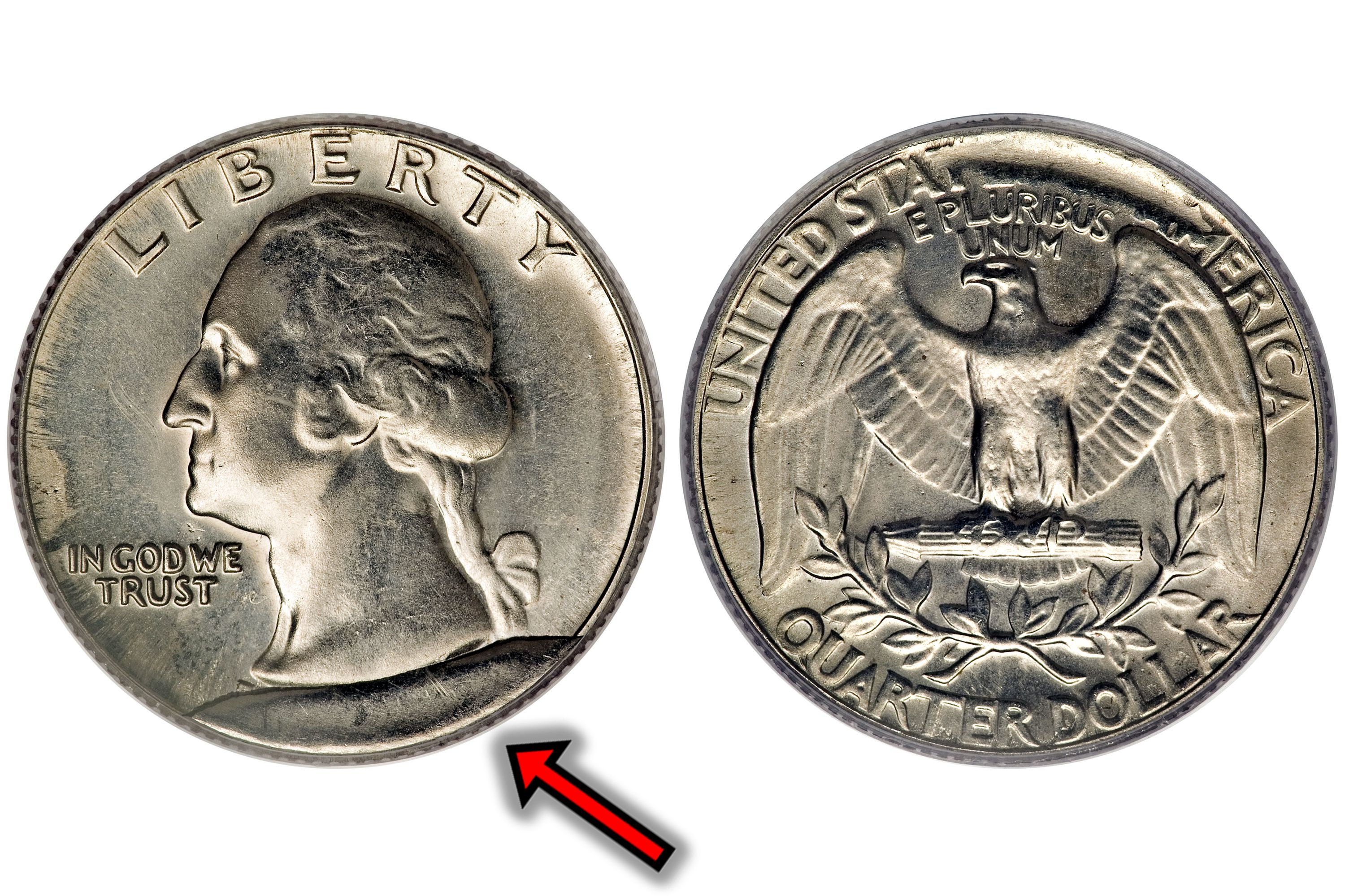 what is a cud error on a coin