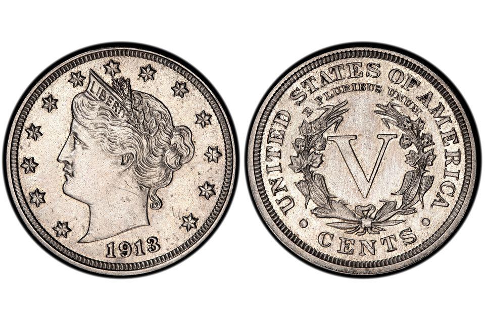 1913 Liberty Head Nickel Walton Specimen