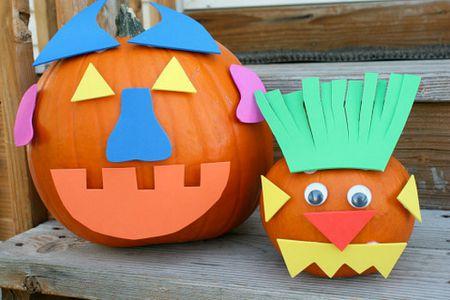 10 Kid Friendly Pumpkin Decorating Ideas