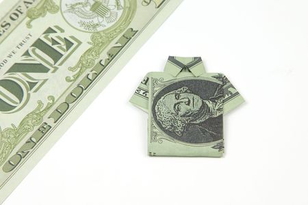 How To Make An Easy Origami Dollar Shirt