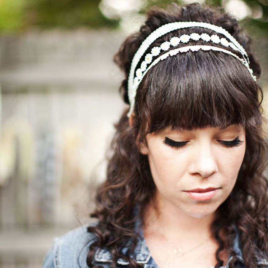 Lace Headband DIY