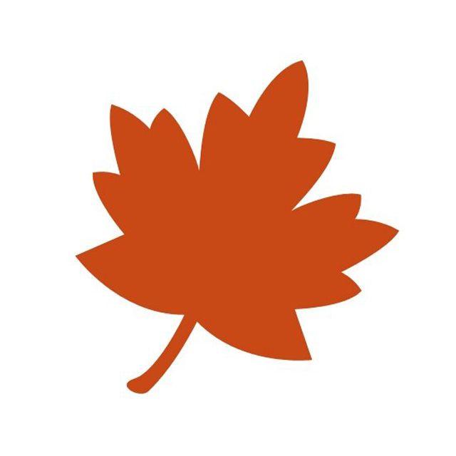 Fall leaf. Free leaves clip