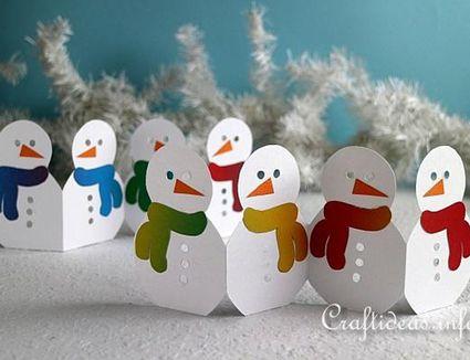 snowman garland