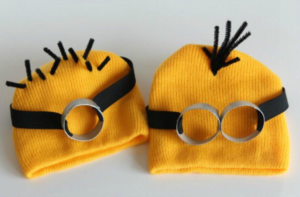 Minion costume heads
