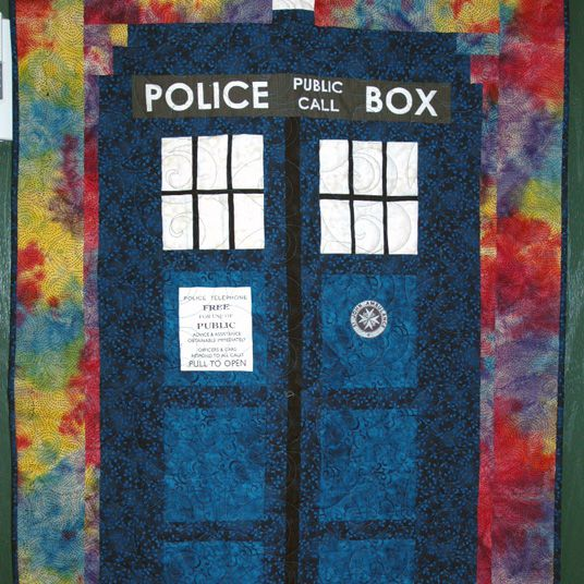 TARDIS Quilt Pattern