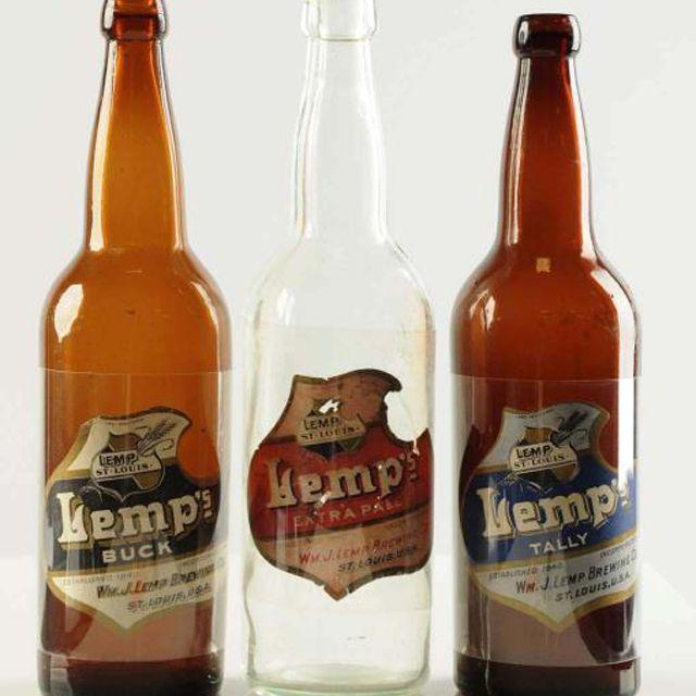 Lemps Beer Bottles