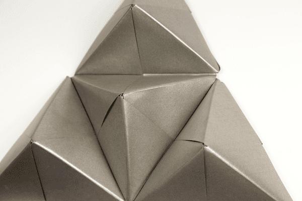 Origami Sonobe Wall Display