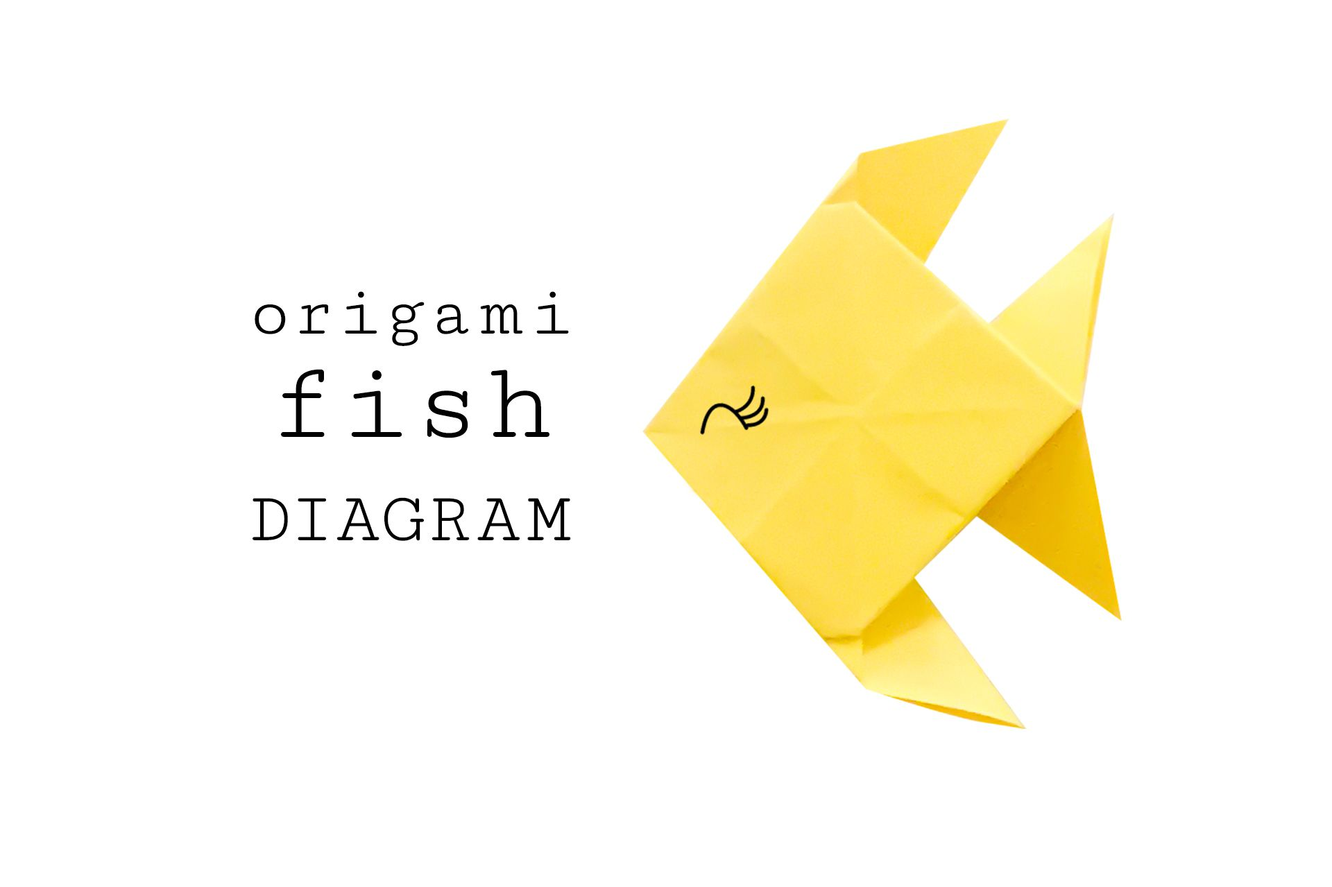 Step By Instructions For Making An Origami Fish Koi Diagram