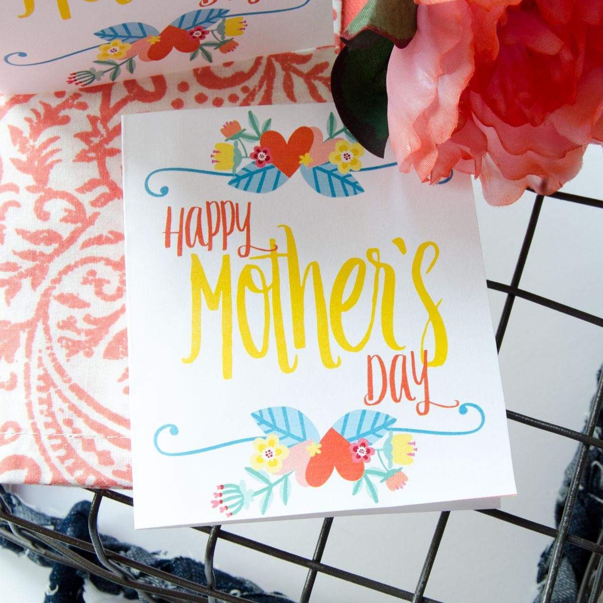 23 Free Printable Mothers Day Cards Shell Love