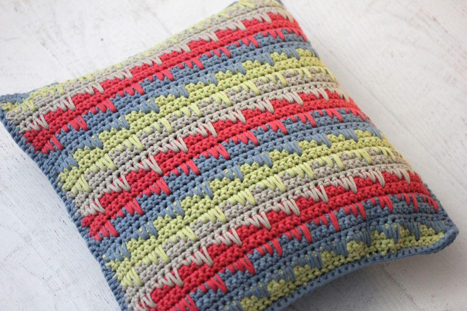 How To Crochet Spike Stitch