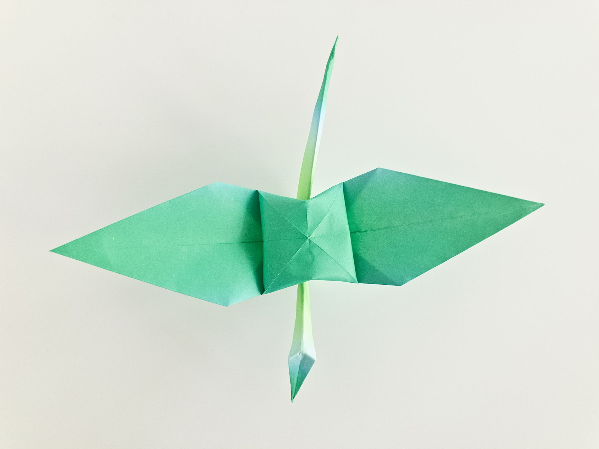 How To Make Origami Crane Tutorial - Easy Origami for Beginners ... | 1500x2000