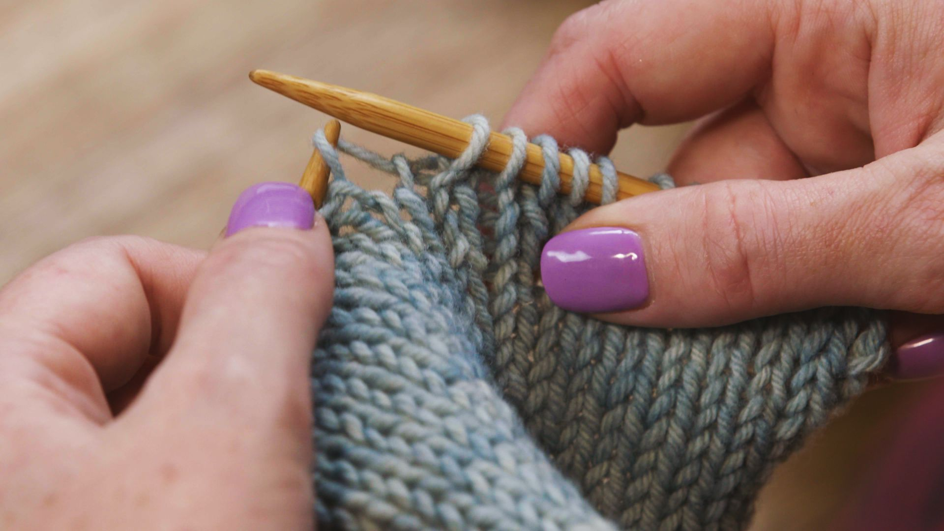 How To Increase Stitches With Make One M1 In Knitting