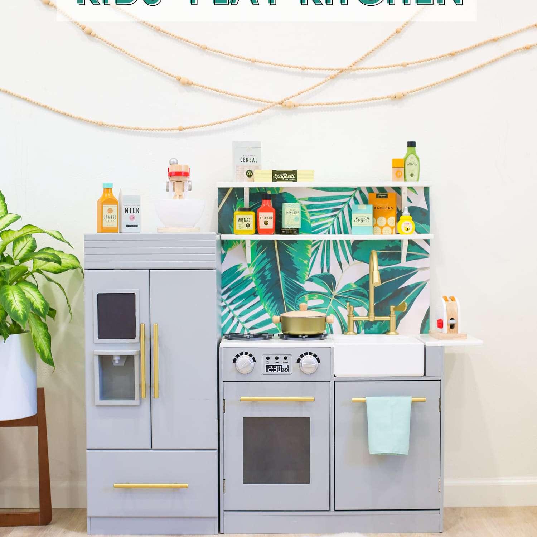 Wallpaper Play Kitchen