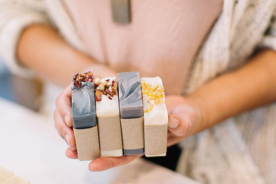 Various Soap Bars